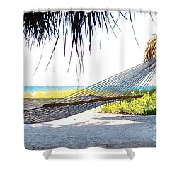 Nap Time Shower Curtain by Margie Amberge