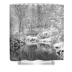 Shower Curtain featuring the photograph A Perfect Storm by Kendall McKernon