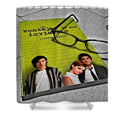 The Perks Book Shower Curtain