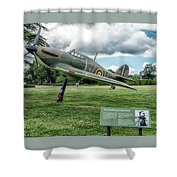 The Pete Brothers Hurricane Shower Curtain by Alan Toepfer