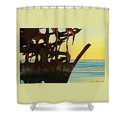 The Peter Iredale 4 Shower Curtain