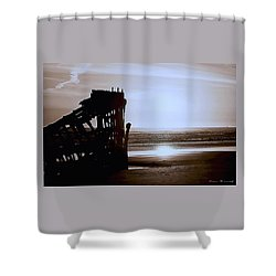 The Peter Iredale 7 Shower Curtain