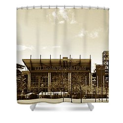 The Philadelphia Eagles - Lincoln Financial Field Shower Curtain by Bill Cannon