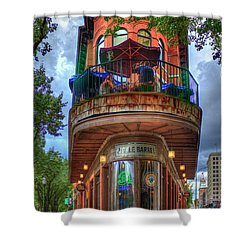 Shower Curtain featuring the photograph The Pickle Barrel Chattanooga Tn Art by Reid Callaway