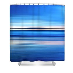 The Pier Shower Curtain by Joseph S Giacalone