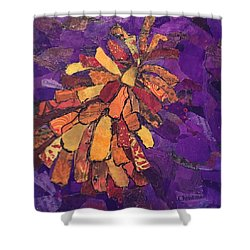 The Pinecone Shower Curtain