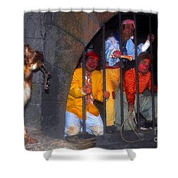 The Pirates Keeper Shower Curtain by David Lee Thompson