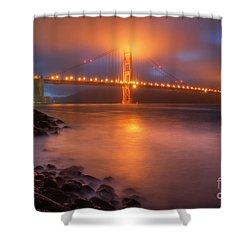 The Place Where Romance Starts Shower Curtain by William Lee