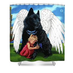 The Playmate Shower Curtain