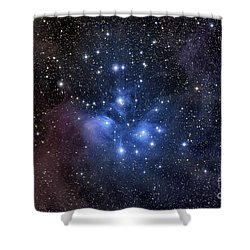 Shower Curtain featuring the photograph The Pleiades, Also Known As The Seven by Roth Ritter