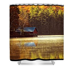 The Point 3 Shower Curtain