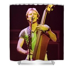 The Police 4 Shower Curtain