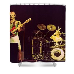 The Police Shower Curtain