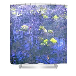The Pond 1 Shower Curtain