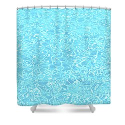 The Pool Shower Curtain