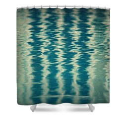The Pool Party Shower Curtain