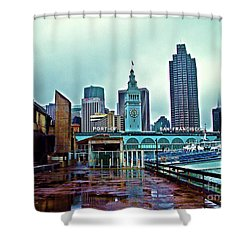 The Port Of San Francisco Shower Curtain