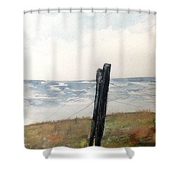 The Post Shower Curtain