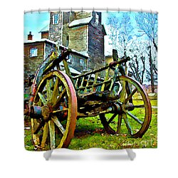 The Pottery - Bennington, Vt Shower Curtain