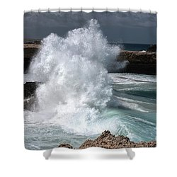 The Power Of The Sea Shower Curtain