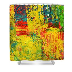 The Power Within Shower Curtain by Wayne Potrafka