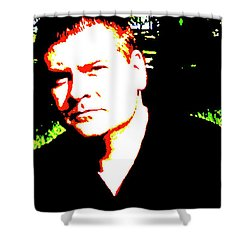 The Powerful Play Poster Shower Curtain