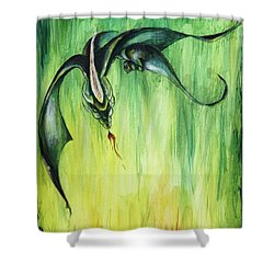 The Predator Shower Curtain