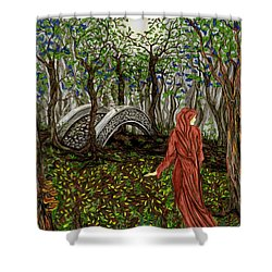 The Priestess Of Ealon Shower Curtain