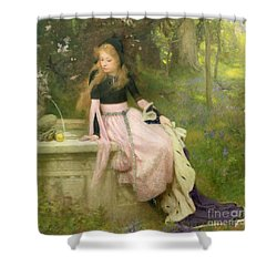 The Princess And The Frog Shower Curtain by William Robert Symonds