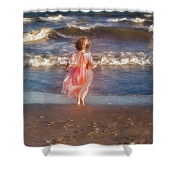 The Princess And The Sea Shower Curtain