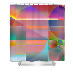 The Principles Of Life Shower Curtain