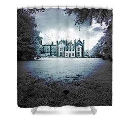 The Priory  Shower Curtain by Keith Elliott
