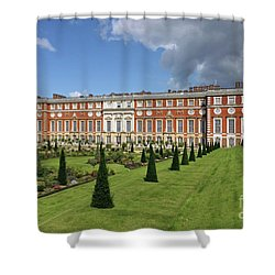 The Privy Garden Hampton Court Shower Curtain