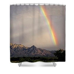 The Promise Shower Curtain by Lucinda Walter