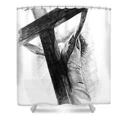 The Promise Shower Curtain by Noe Peralez
