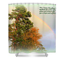 The Promises Of God Shower Curtain