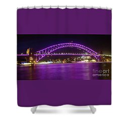 Shower Curtain featuring the photograph The Purple Coathanger By Kaye Menner by Kaye Menner