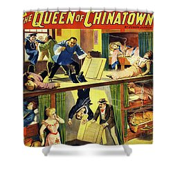 The Queen Of Chinatown Shower Curtain