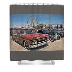 The Race Of Gentlemen Shower Curtain