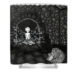 The Radiant Boy Shower Curtain
