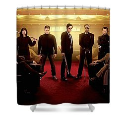 The Raid 2 Shower Curtain