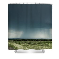 The Rain Storm Shower Curtain