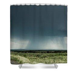 The Rain Storm Shower Curtain