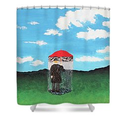 The Rainmaker Shower Curtain