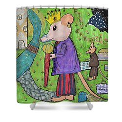 The Rat King Shower Curtain
