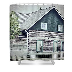 The Rectory Shower Curtain