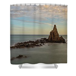 The Reef Of The Cape Sirens At Sunset Shower Curtain