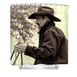 The Reins  Shower Curtain