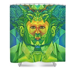 The Reinvention Reinvented 1 Shower Curtain