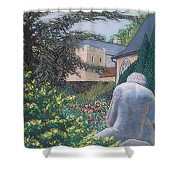The Rendezvous Shower Curtain by Don Perino